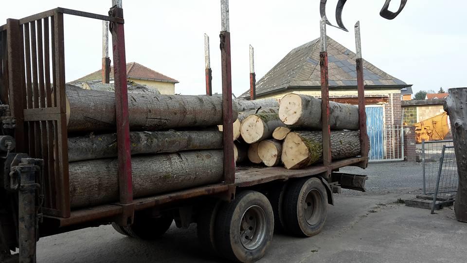 Der Holzlaster